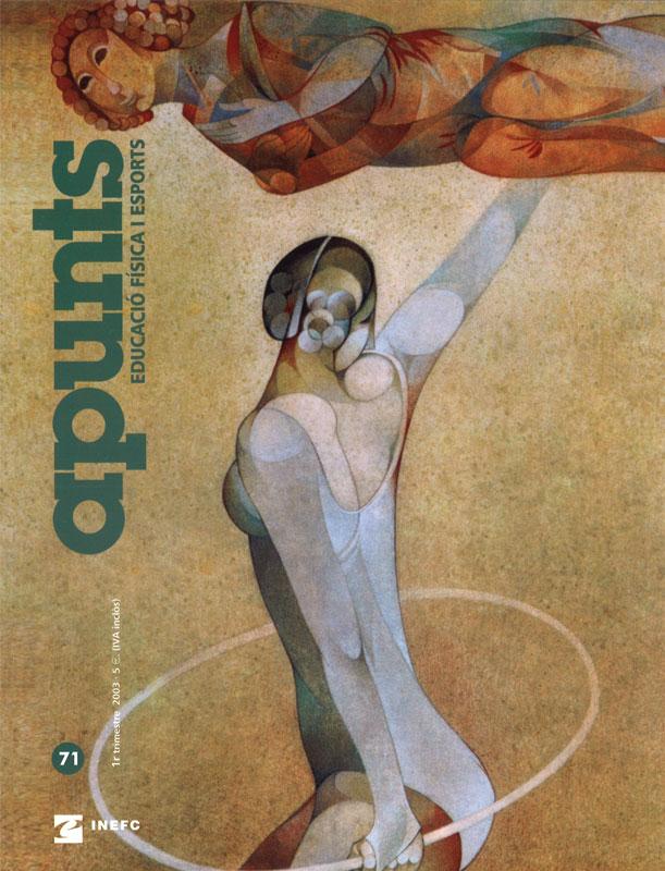 Cobrir 71 Apunts Educació Física i Esports. INEFC