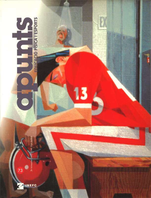 Cobrir 73 Apunts Educació Física i Esports. INEFC