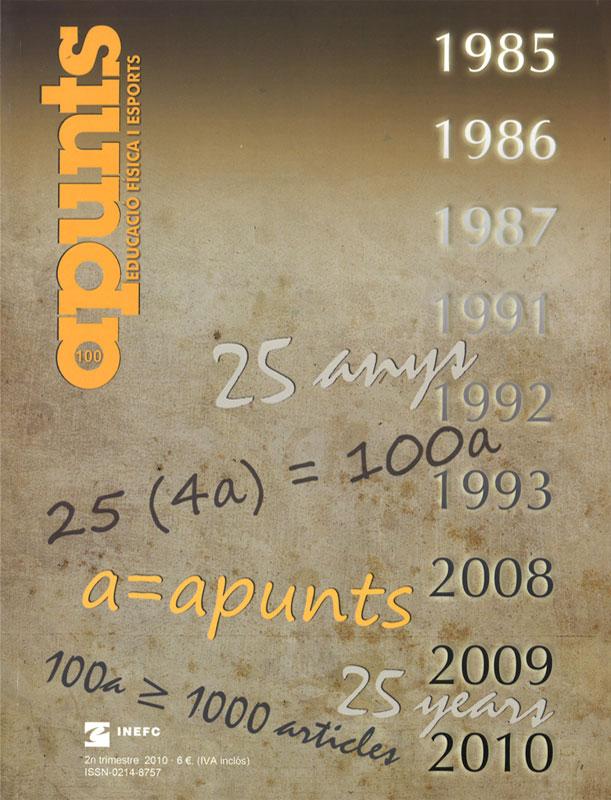 Cobrir 100 Apunts Educació Física i Esports. INEFC
