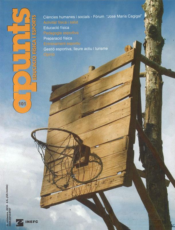 Cobrir 101 Apunts Educació Física i Esports. INEFC