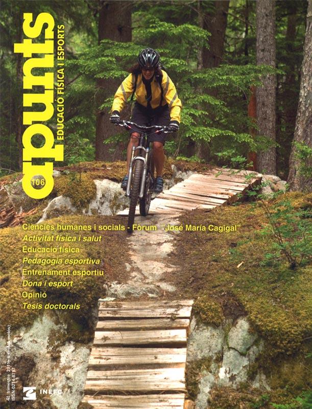 Cobrir 106 Apunts Educació Física i Esports. InefcCobrir 106 Apunts Educació Física i Esports. Inefc