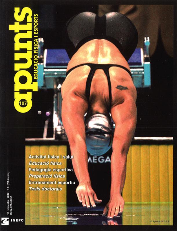 Cobrir 107 Apunts Educació Física i Esports. Inefc