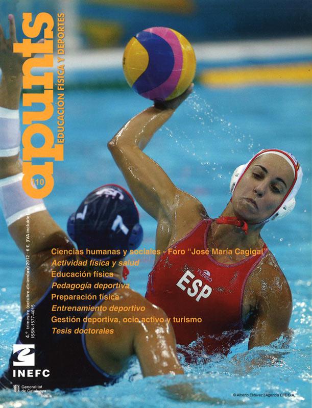 Portada 110 Apunts Educación Física y Deportes. INEFC
