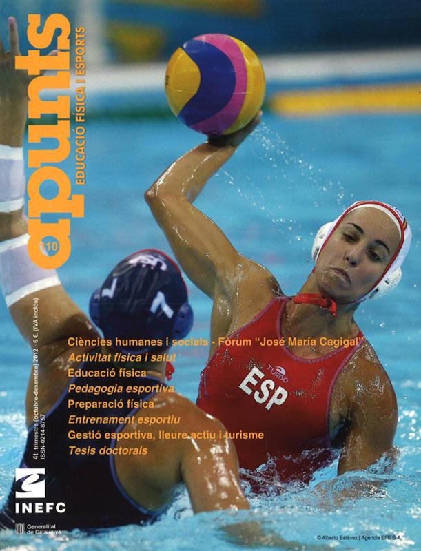 Cobrir 110 Apunts Educació Física i Esports. Inefc