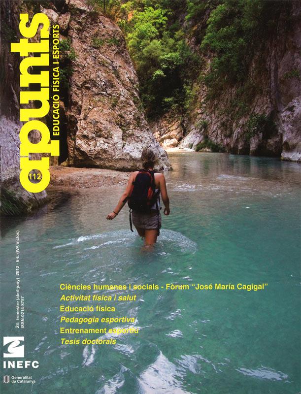 Cobrir 112 Apunts Educació Física i Esports. Inefc