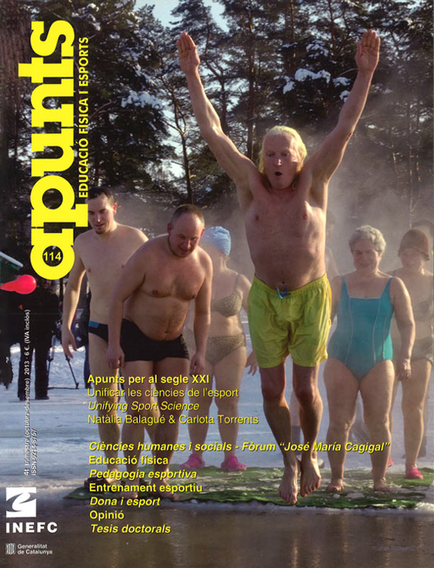 Cobrir 114 Apunts Educació Física i Esports. Inefc