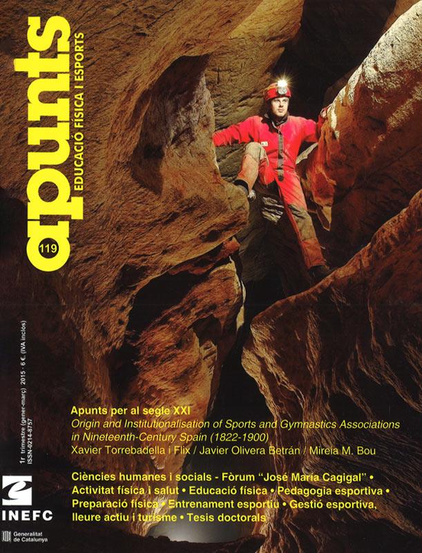 Cobrir 119 Apunts Educació Física i Esports. Inefc