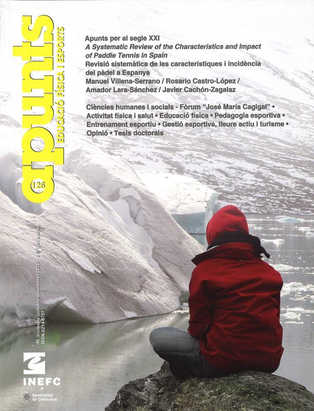 Cobrir 126 Apunts Educació Física i Esports. Inefc