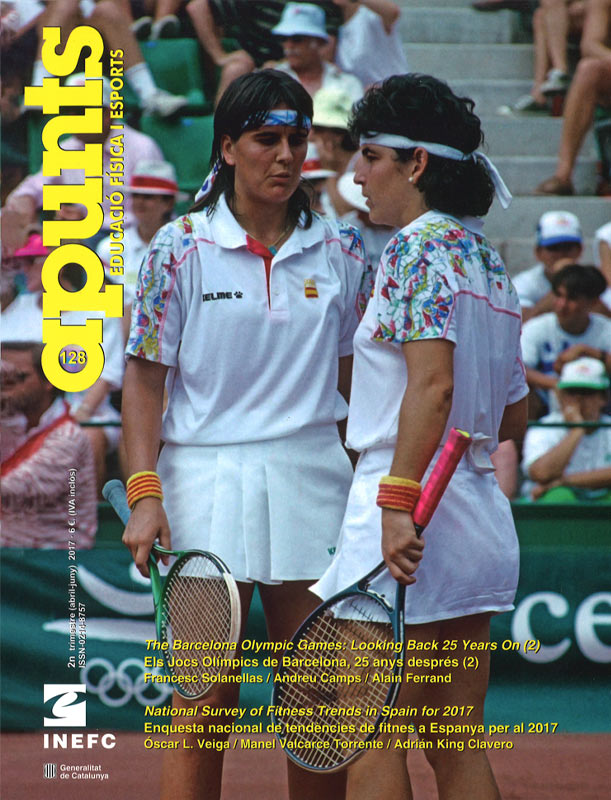Cobrir 128 Apunts Educació Física i Esports. Inefc