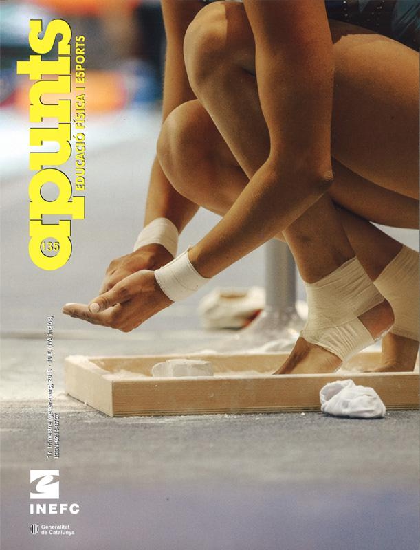 Cobrir 135 Apunts Educació Física i Esports. Inefc