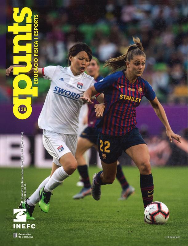Cobrir 138 Apunts Educació Física i Esports. Inefc