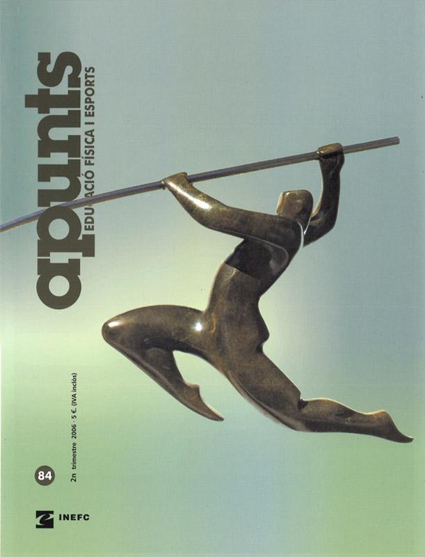 Cobrir 84 Apunts Educació Física i Esports. INEFC