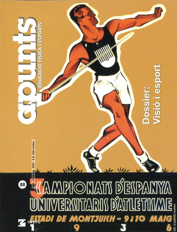 Cobrir 88 Apunts Educació Física i Esports. INEFC