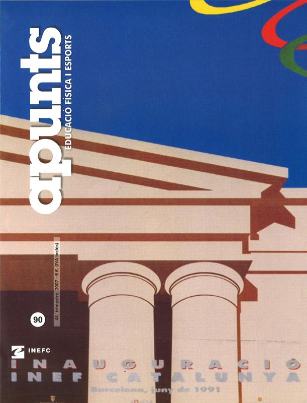Cobrir 90 Apunts Educació Física i Esports. INEFC