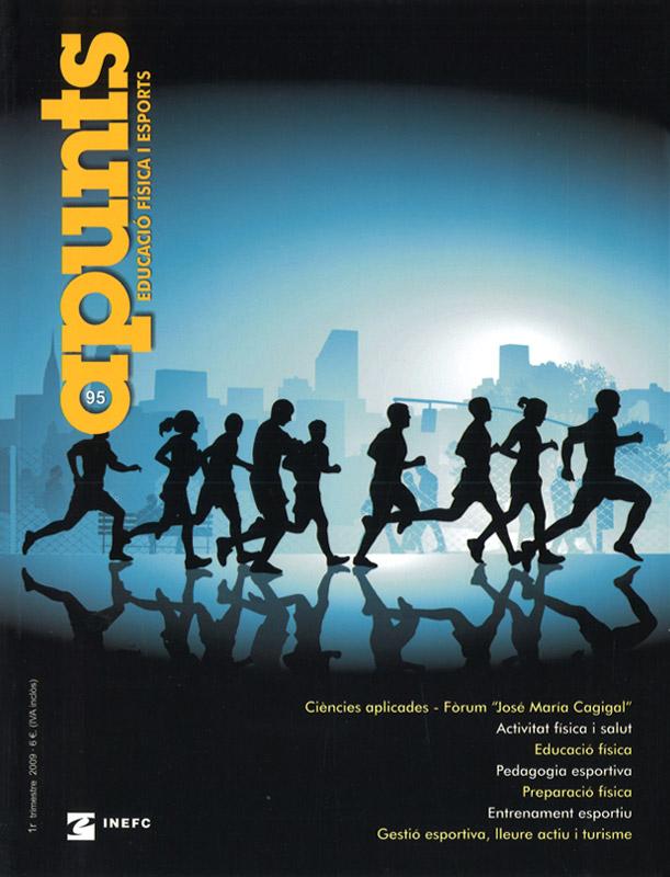 Cobrir 95 Apunts Educació Física i Esports. INEFC