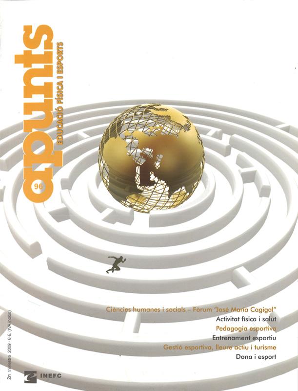 Cobrir 96 Apunts Educació Física i Esports. INEFC