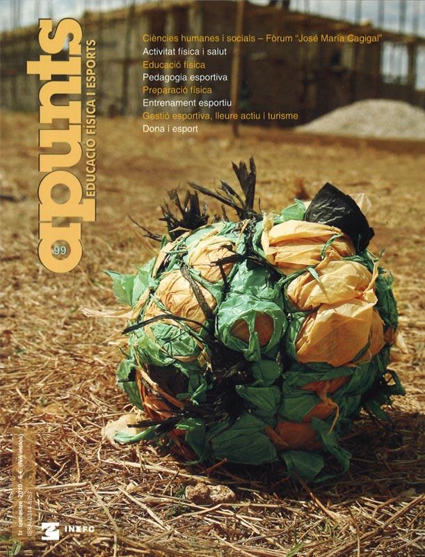 Cobrir 99 Apunts Educació Física i Esports. INEFC